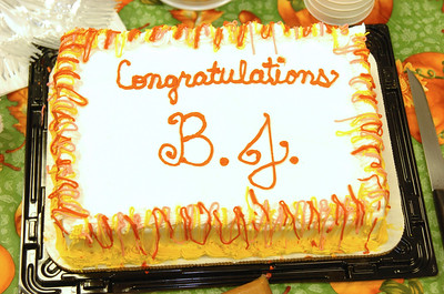 BJ Sparks Award 10-25-06