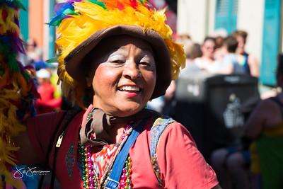 French Quarter Festival Second Line Parade 2017