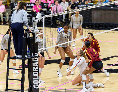 NCAA Women's Volleyball - CU vs USC - 20171020