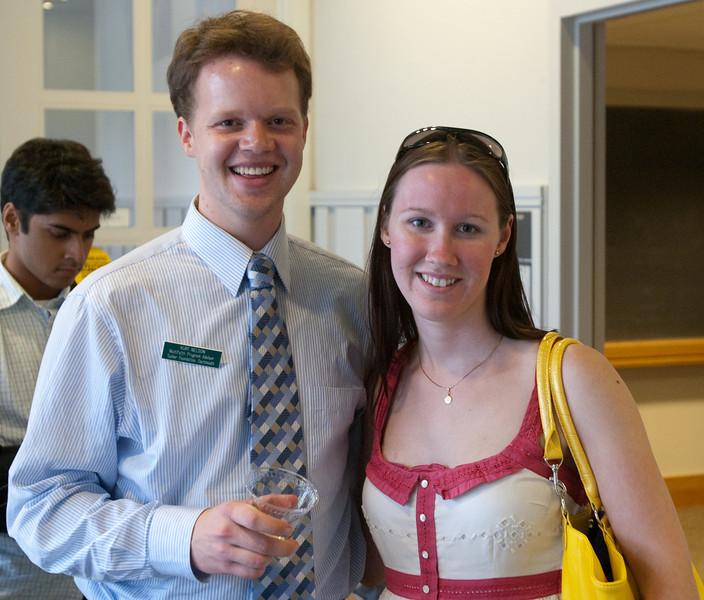 Day 3 - Kurt Nelson with Jillian at the Miltifaith Reception