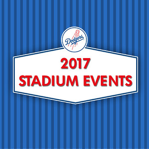 2017 Dodgers Stadium Events