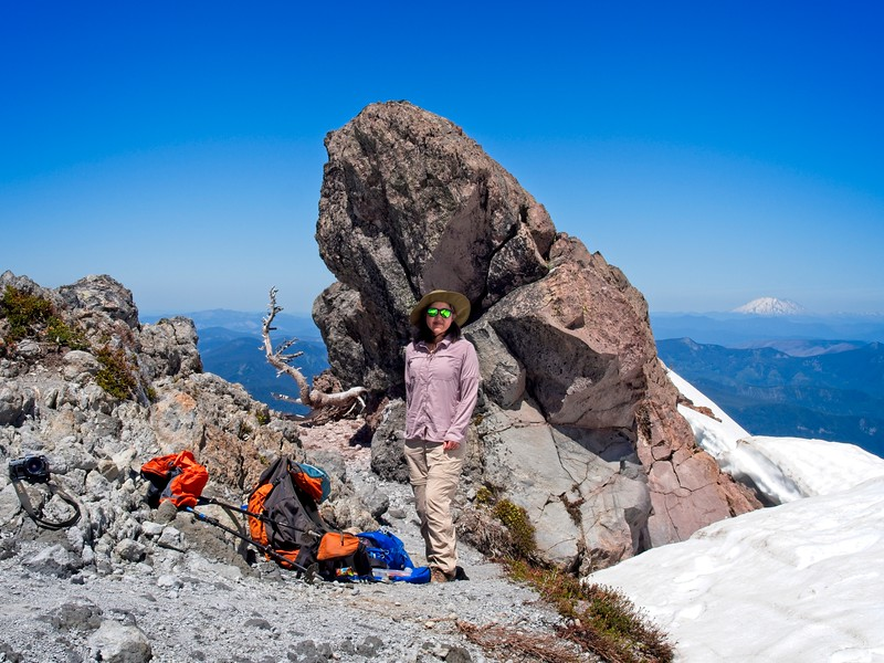 Top Spur to Ho Rock.