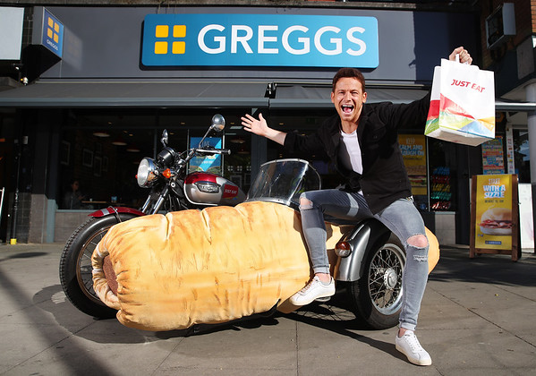 3/7/19 - Just Eat adds Greggs to delivery service