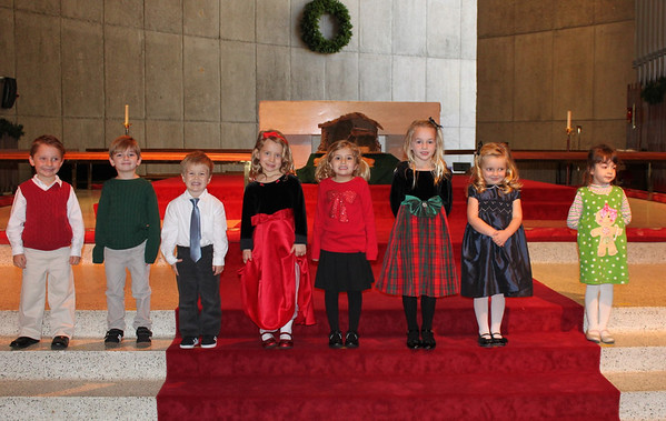 Pre-k/1st Grade Christmas Program 2013