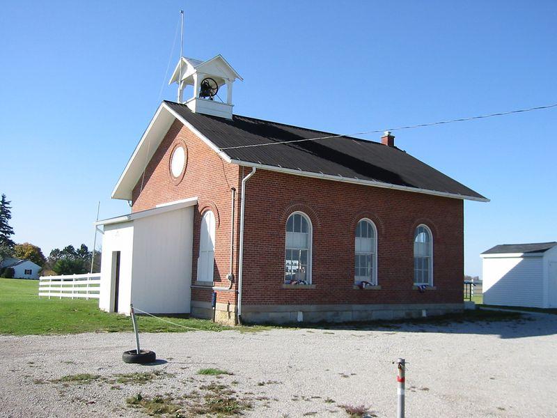 Restored Morton School--Shelby, OH