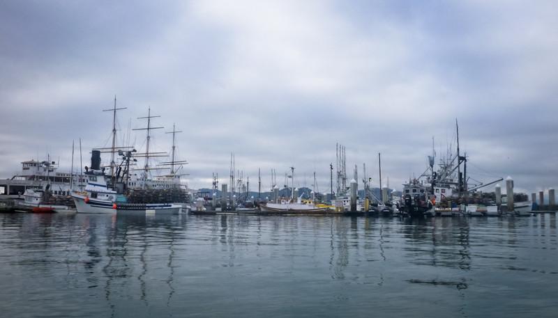 Inside the real Fisherman's Wharf.