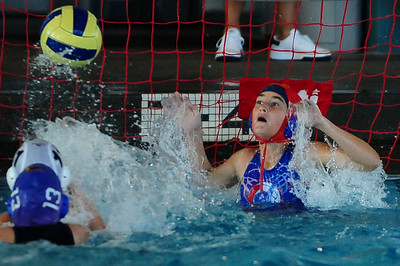Cal Cup 2009 Round #3 - Los Alamitos Water Polo Club 12U Girls vs Los Angeles Boys 3/25/09. Los Al vs LAWPC. Photos by Chris Preston.