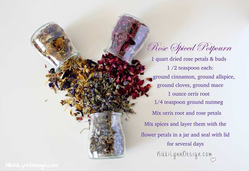 Rose Spiced Potpourri