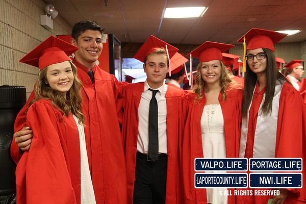 Crown Point High School Graduation 2017