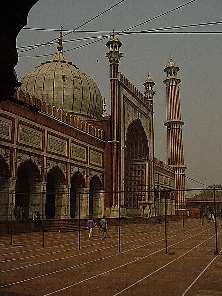at the Friday Mosque, Delhi, India