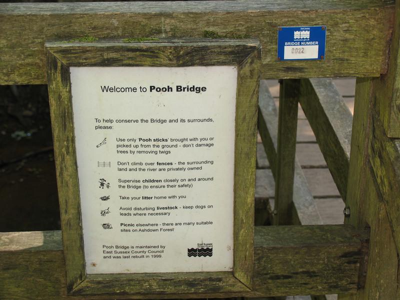 Poo Bridge Sign