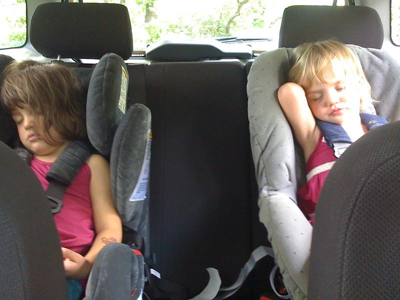 Car nap.