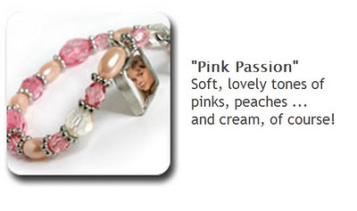 Toggle Bracelet - Elegant Pink - $35