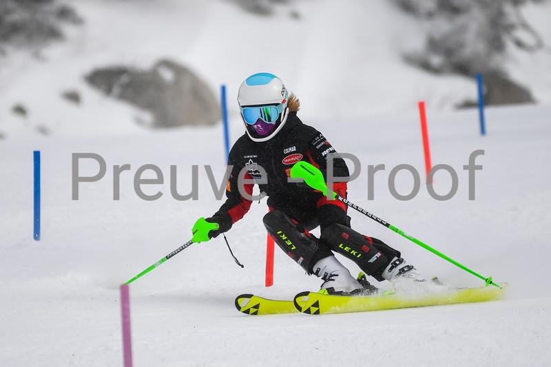 2021-03-14 Club De Ski U14 SL Erik Guay