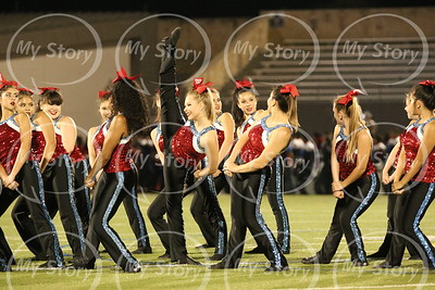 2017 Antonian Dance Team at Jeff Game