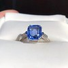 Vintage-Inspired and Contemporary 3.03ct Blue Sapphire Ring (GIA, No-Heat)) 19