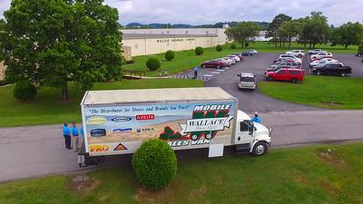 Wallace Mobile Sales Van