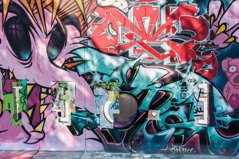 murals / graffiti in Barcelona