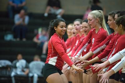 2016 Erie v Skyline High School Volleyball