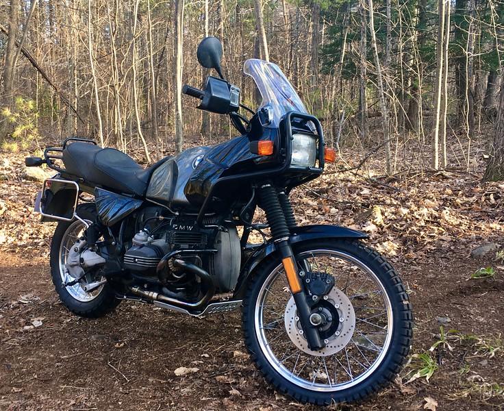 1992 BMW R100GS