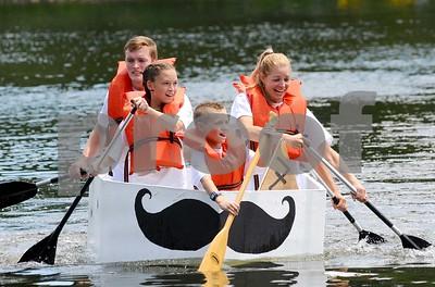 Glen Ellyn Cardboard Boat Regatta 2017