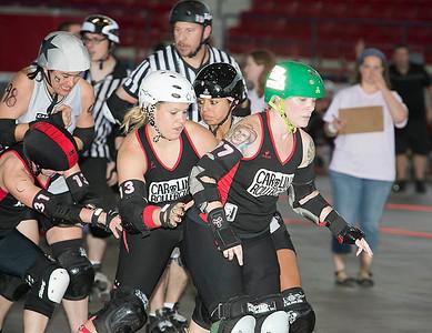 Carolina Roller Girls 5-19-2012