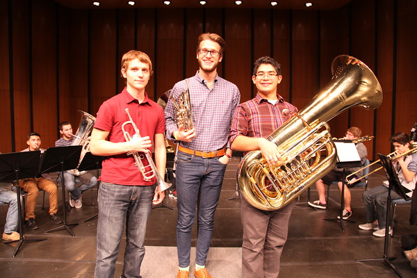 Band Students Prepare for Symphony