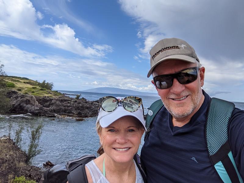 The northwest corner of Maui.