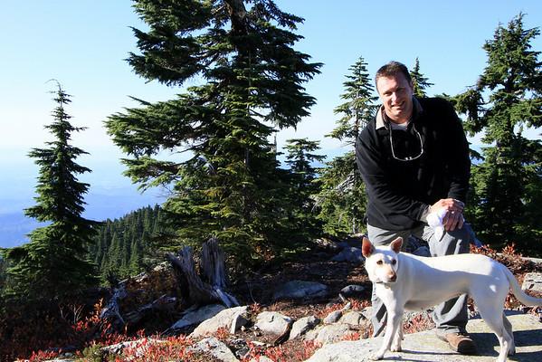 Darren & Steve Mt Pilchuck North Cascades 2300ft 6mi Climb