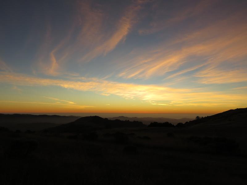Russian Ridge Sunset