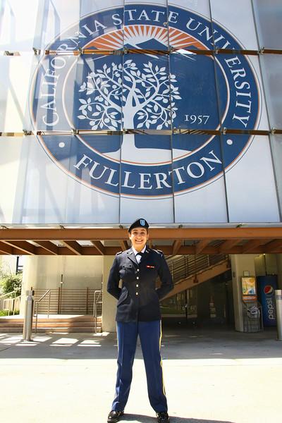 Rienzo ROTC commission ceremony