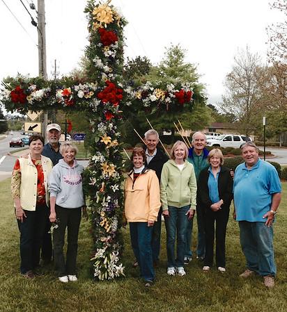 Making the Easter Cross 2014