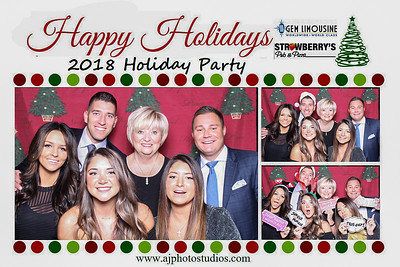Gem-Strawberry's 2018 Holiday Party