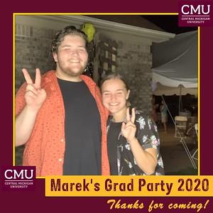 Marek's  Grad Party 8-8-20