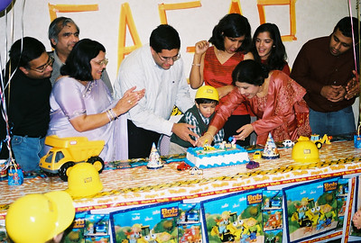12-2002 Sagar 2nd Birthday