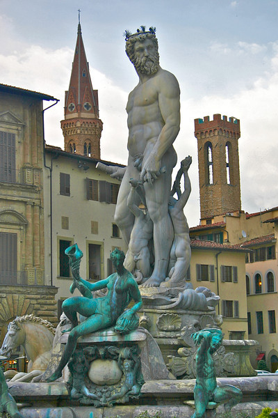 statue- Piazza della Signoria