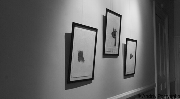 """the collaborative project of Katherine Kavanaugh & Jennifer Wallace.  """"One Hundred Footsteps"""" is an exhibition of 50 small collage drawings and 50 poems printed in letterpress."""
