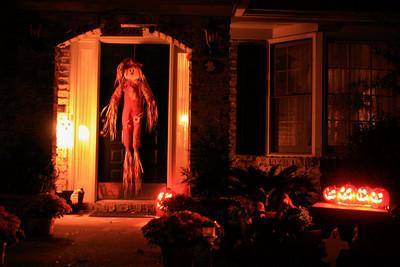 Halloweeen House 10-30-09