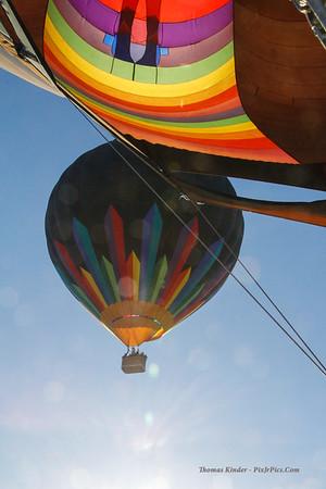Chandler AZ Hot Air Balloon December 2013