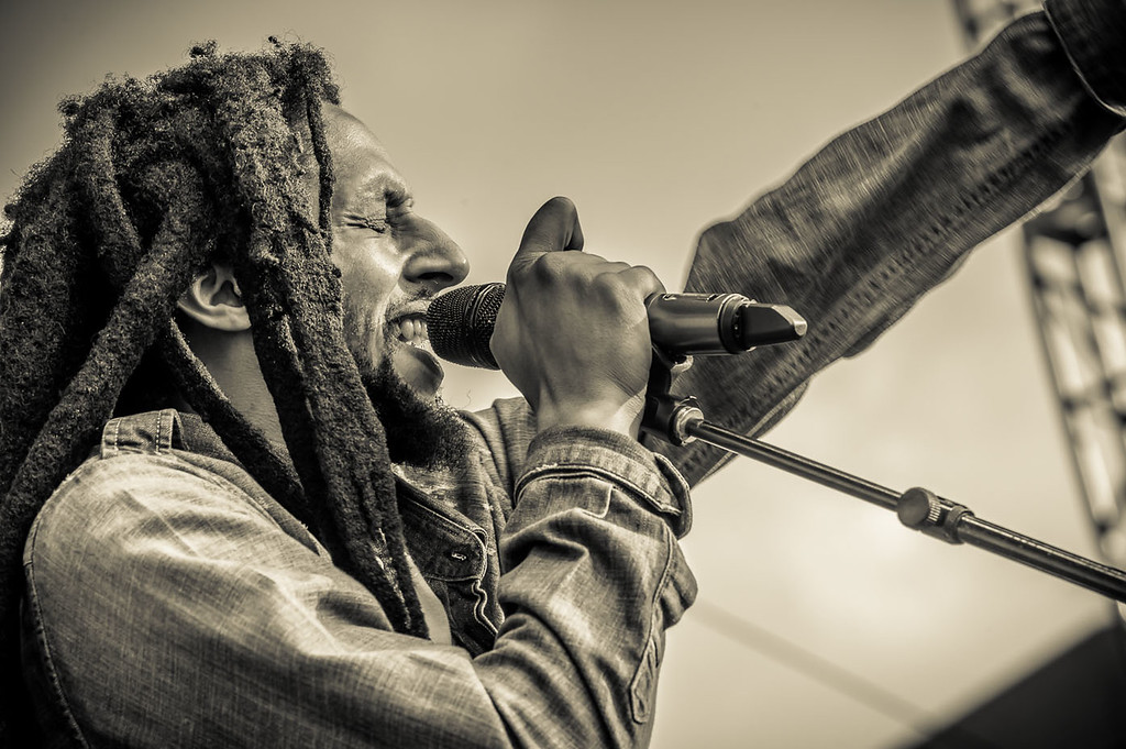 Julian Marley on tour with Sublime with Rome performed Cincinnati's Horseshoe Casino on July 11, 2013