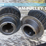 SKU: AM-PULLEY/18/14, 18 Teeth Pulley Gear for 5M Timing Belt, Suitable for Motor with 14mm Shaft