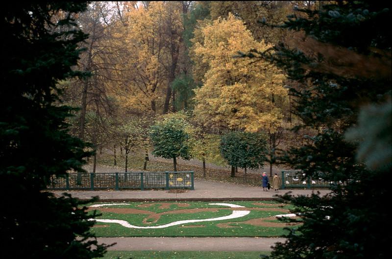 gardens of Peterhof