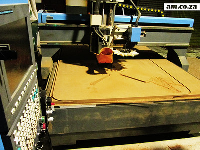 Creating the Boardroom Table with the CNC Router