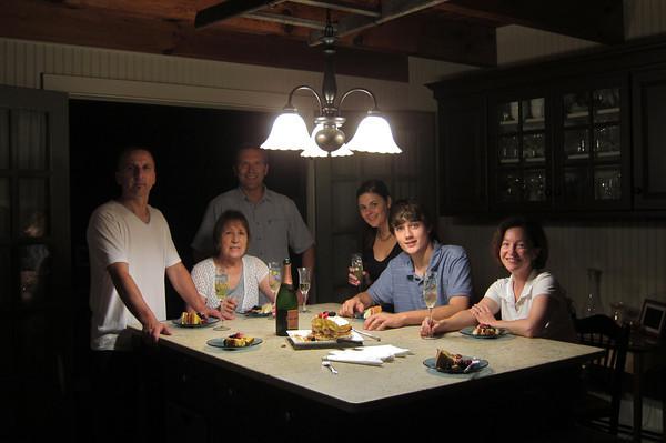 Mum's Birthday Dinner 2012
