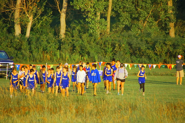 WHS CROSS COUNTRY @ Hargis Creek Watershed  091419