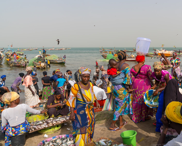 Tanji Fishing Boats and locals 2 - The Gambia 2020.JPG