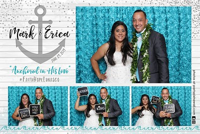 Mark & Erica's Wedding (Mini LED Open Air Photo Booth)