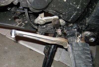 V-strom gear shift break