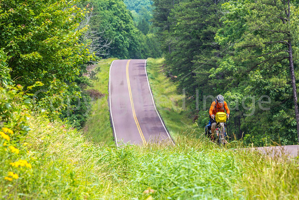 Cross-Country Cyclists - Johnson's Shut-Ins & Centerville