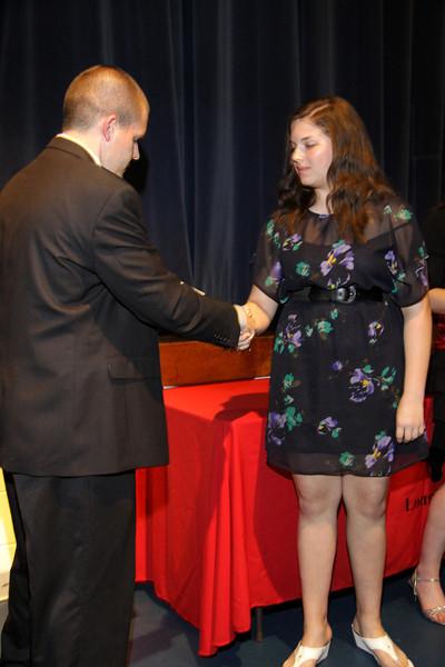 Awards Night 2012 - Student of the Year: Desktop Publishing